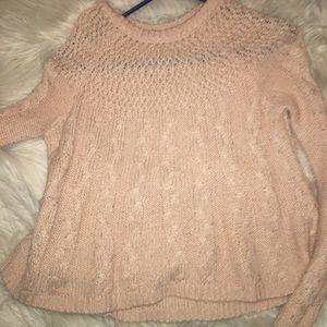 Hollister babydoll sweater